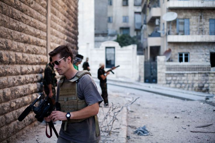 Sad news about the dead of our friend James Foley. He gave his life trying to expose the world to the suffering of the Syrian people.