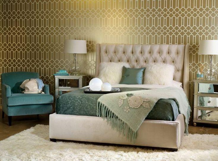 Wandgestaltung Schlafzimmer Ideen - 40 coole Wandfarben # ...