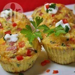 Rezeptbild: Leckere Omelett Muffins (Paleo)