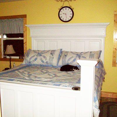 26 best old door beds images on pinterest bedroom ideas bedrooms best reader reuse ideas 2011 door headboardsheadboard eventshaper