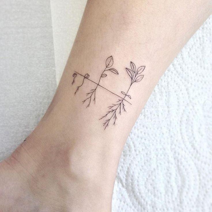 Delicate Feminine Tattoos of Beauty Sets Alencar