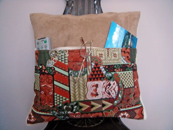 Pocket Pillow Traditional Maori design by ItsSewInspirational, £15.30