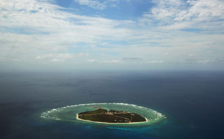 Australia's Lady Elliot Island...an island resort in the Great Barrier Reef Marine Park.  100 acres.