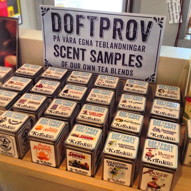 Doftprov | Scent samples