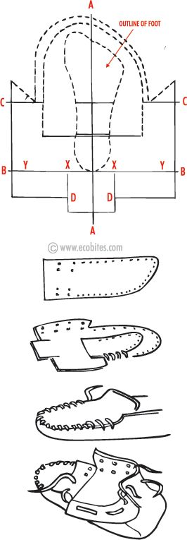 Make Your Own Moccasins