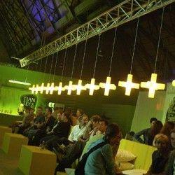 Cross Light kruisvormige lamp van #Dark
