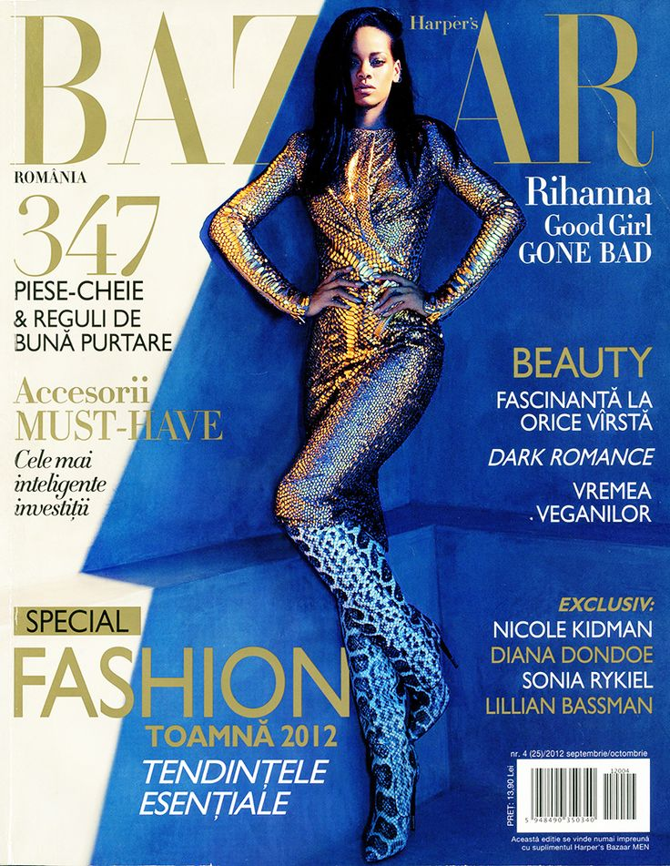 Gala UAD 2012 - Harper's BAZAAR Magazine (September - October 2012) - 1/2 * magazine cover photos are not my work - they are here just to let you recognise quicker the number if you are interested to search for it