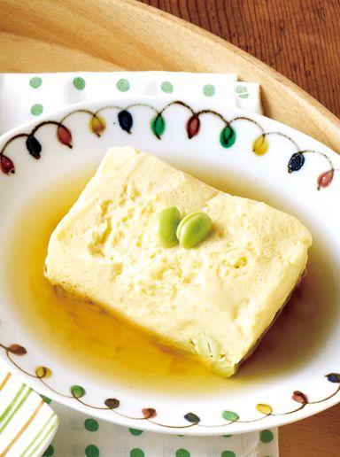 枝豆の卵豆腐 のレシピ・作り方 │ABCクッキングスタジオのレシピ | 料理教室・スクールならABCクッキングスタジオ