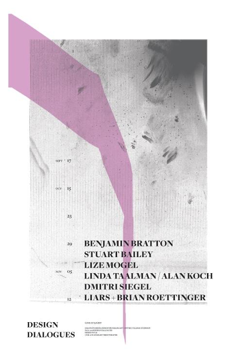 lecture poster by adam guzman