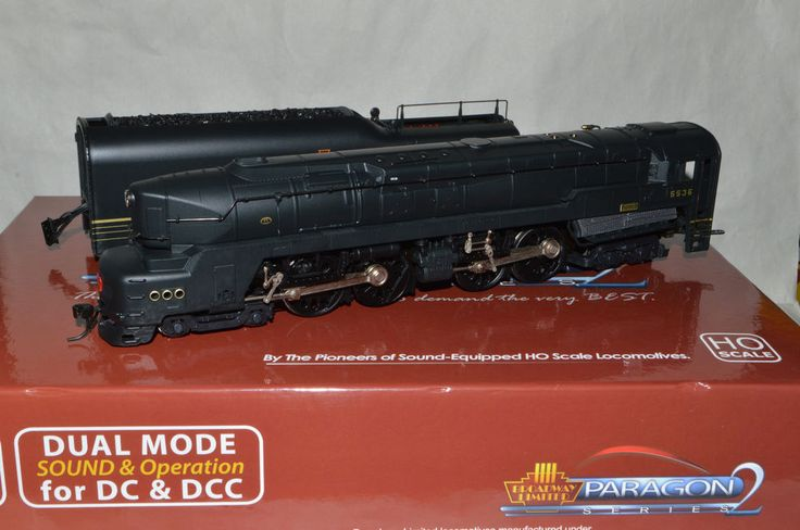 HO Broadway Limited Pennsylvania RR T-1 Duplex 4-4-4-4 steam locomotive DCC S #BroadwayLimited