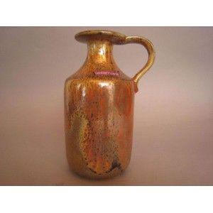 Ceramano copper glazed jug...West German ceramics