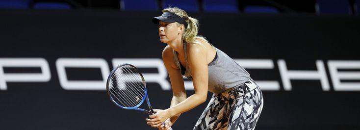 De Russische tennister Maria Sharapova maakt haar comeback op het tenniscourt.  Sharapova werd geschorst na een positieve dopingtest. Ze staat bekend haar luide keurs tijdens de wedstrijd.  CULTUUR/SPORT