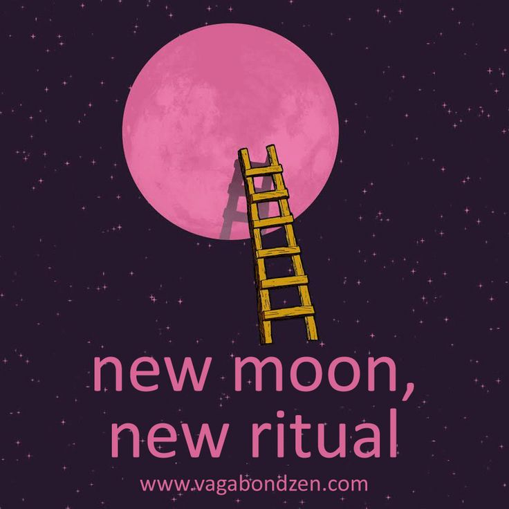 New Moon, New Ritual - Ditch the New Year's Resolution and start something new!