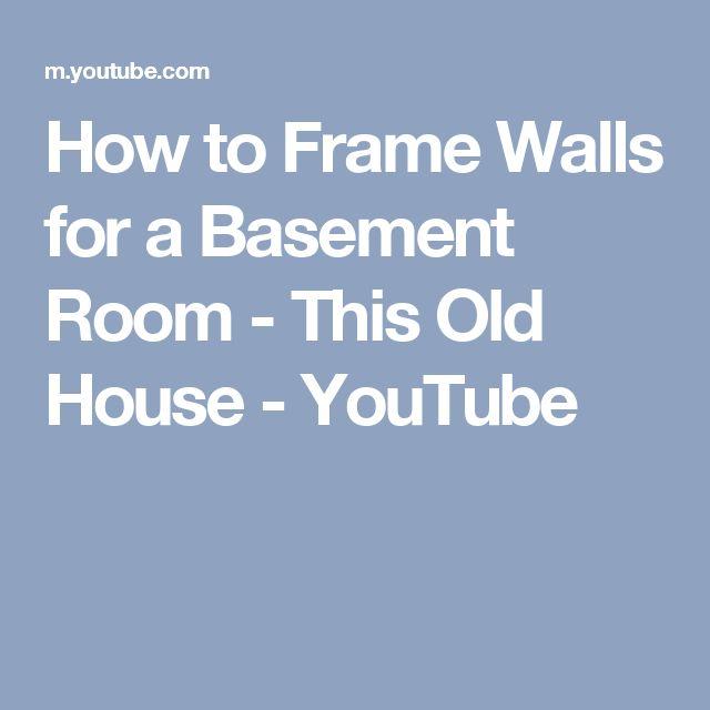 Best To Worst Rating 13 Basement Flooring Ideas: Top 25 Ideas About Framing A Basement On Pinterest