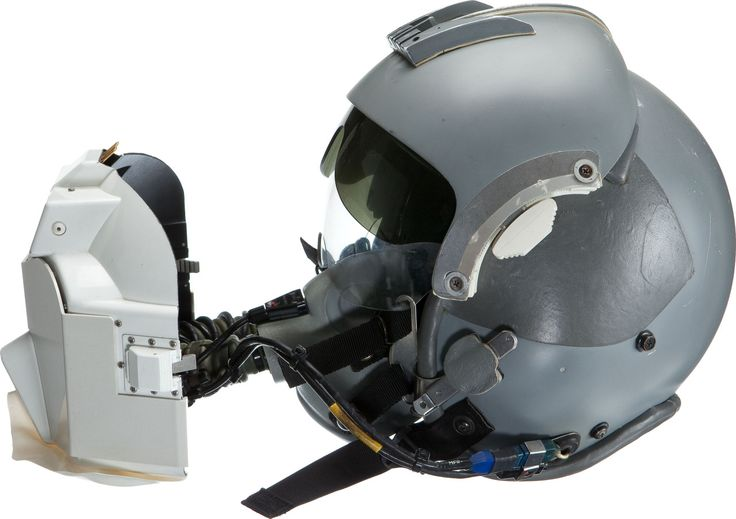 HGU-55/P Helmet with EEU-2/P Nuclear Flash Protection Goggles