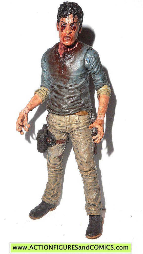 The Walking Dead FLUE WALKER ZOMBIE mcfarlane toys action figures