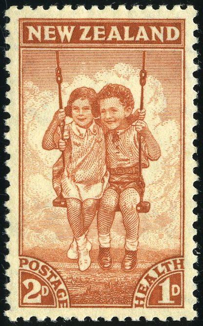 King George VI New Zealand 1942. Health Stamps More about #stamps: http://sammler.com/stamps/ Mehr über #Briefmarken: http://sammler.com/bm