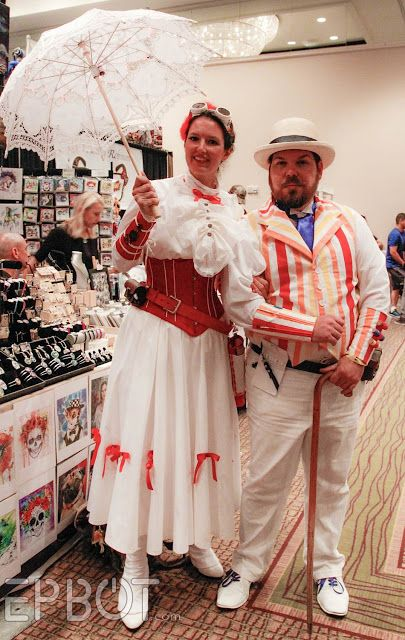 Steampunk Mary Poppins Epbot Tampa S Fanboy Expo 2015