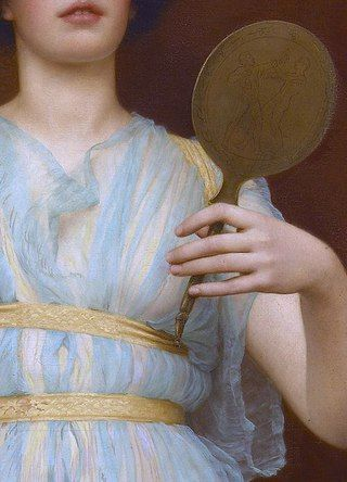 John William Godward  Ione, 1900