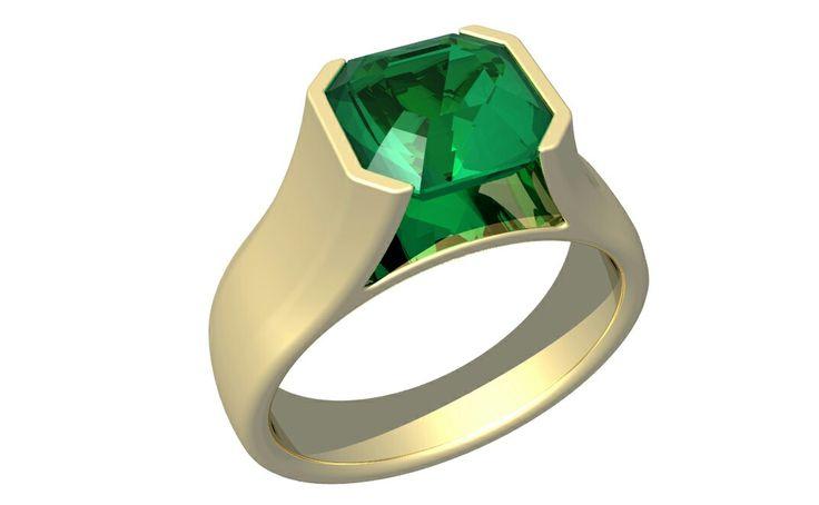 Asscher emerald