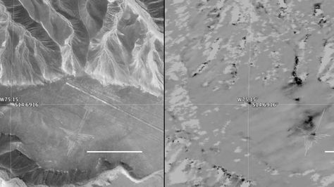In just two 10-minute overflights, an airborne NASA synthetic aperture radar proved it could pinpoint areas of disturbance in Peru's Nasca lines World Heritage Site.