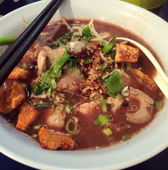CR:Ning Bunma #thankyou #aroii #aroi #Ilovefood #tasty #yummyfood #YummyThaiNoodleBar #yummy #yumyum #noodlesoup #noodle #noodles #nice #deliciousfood #delicious #thaicuisine #thaistagram #thaimenu #thaipic #foodie #foodpic #foodporn #foodgasm #foodshare #แคบหมู #ก๋วยเตี๋ยว #เส้นเล็กน้ำตก #แคบหมูทำเอง http://w3food.com/ipost/1503734000266308805/?code=BTeVhsqjOzF