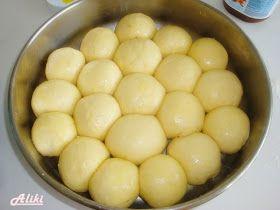 Sastojci 3 dcl. mlakog mleka 11 g. suvog kvasca 1 jaje 2 žumanca 5 kašika šećera 1 vanilin šećer 100 g. maslaca sobne temp...