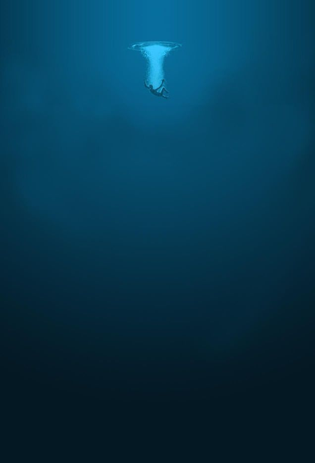 The ocean is a beautiful,frightening place, being two miles deep and more.