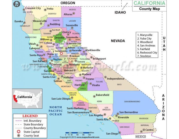 Best California Maps Images On Pinterest City Maps Hospitals - San luis usa map