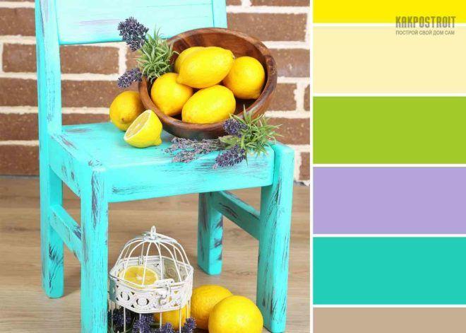 Оптимальным является сочетание цветов в интерьере при условии совмещения бирюзовой и белой красок. Именно такую пару часто применяют в спальной комнате.