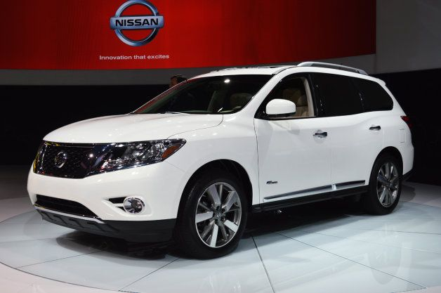 2014 Nissan Pathfinder Hybrid I might get this car instead of the 370Z