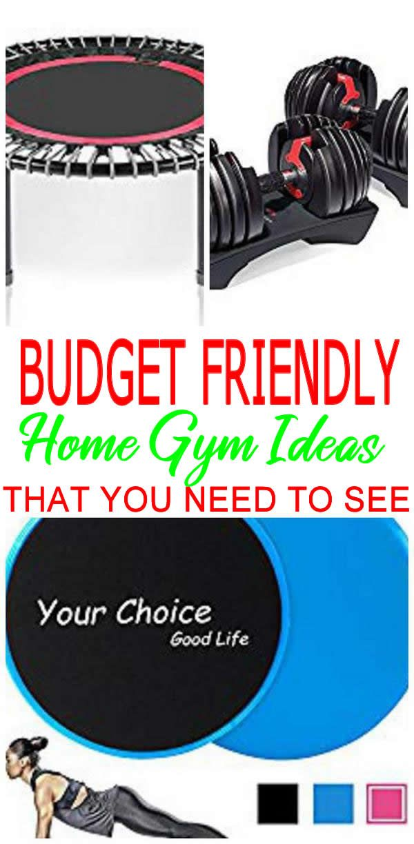 30ed842035f Looking for the BEST home gym ideas  Find gym products to create the most  amazing gym in your home! Budget friendly
