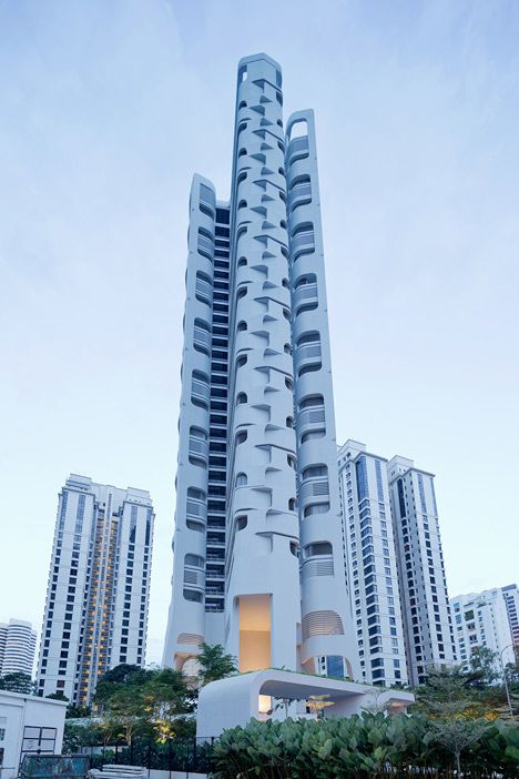 Ardmore Residence skyscraper in Singapore by UNStudio.