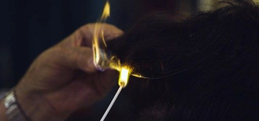 Cutting Hair with Fire Is an Art Like No Other