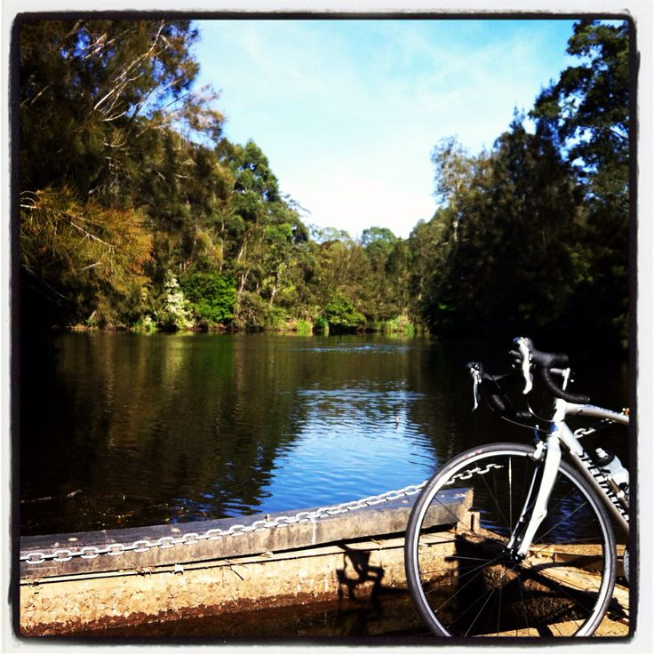 Lane Cove River National Park. 5kms NW of Sydney is a great hideaway in a bustling city, with a quiet road to cruise. #cycling #ride #bike #explore #sydney