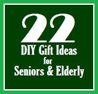 The Fuzzy Square: 22 DIY Gift Ideas for Seniors and Elderly https://twitter.com/NeilVenketramen