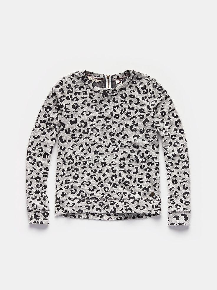 luipaard trui ecru