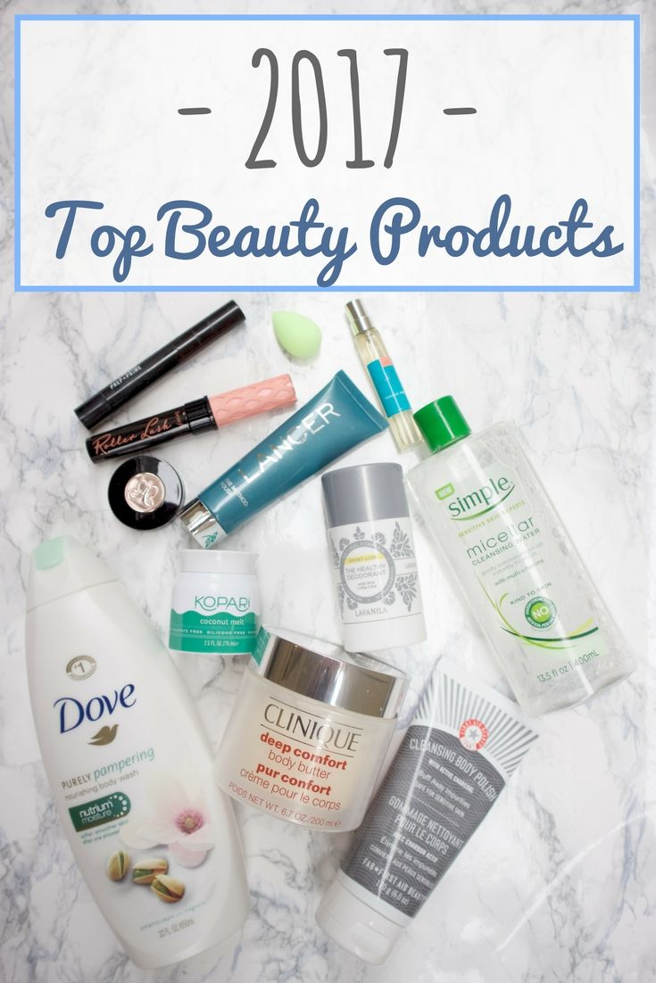 Top Beauty Products of 2017