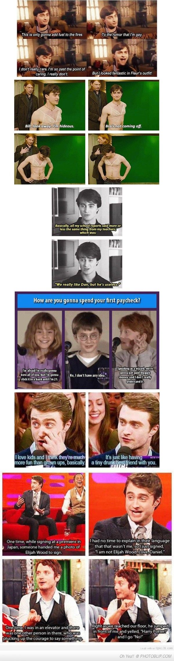 Just Some Daniel Radcliffe For You Guys