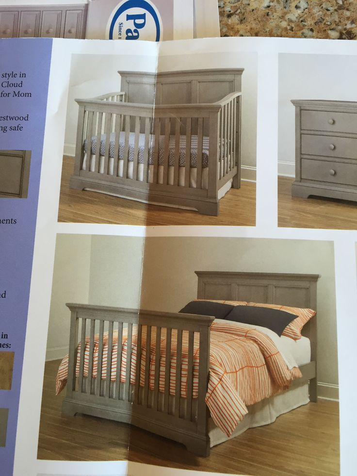 Westwood design Hanley collection 4-in-1 crib in cloud. In store only at buy buy baby for $499.