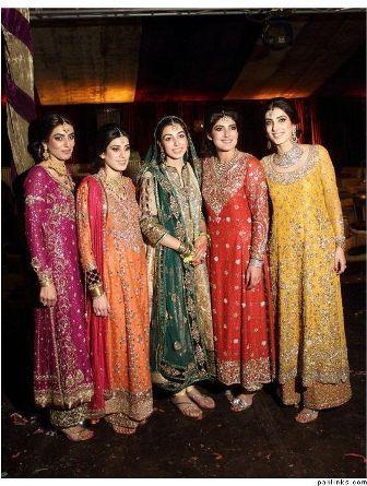 New pakistani dresses pictures