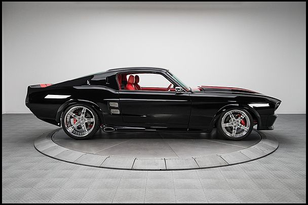 1967 Ford Mustang GT Excuse me while I pick up my jaw off the floor..
