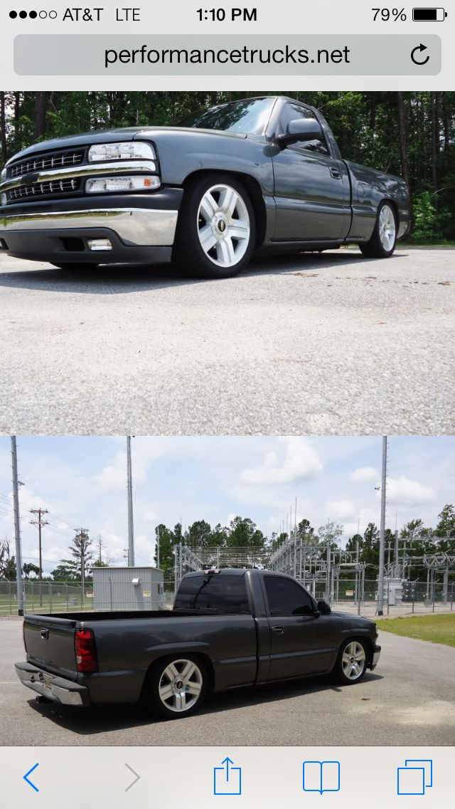 I want my 2000 silverado to look like this