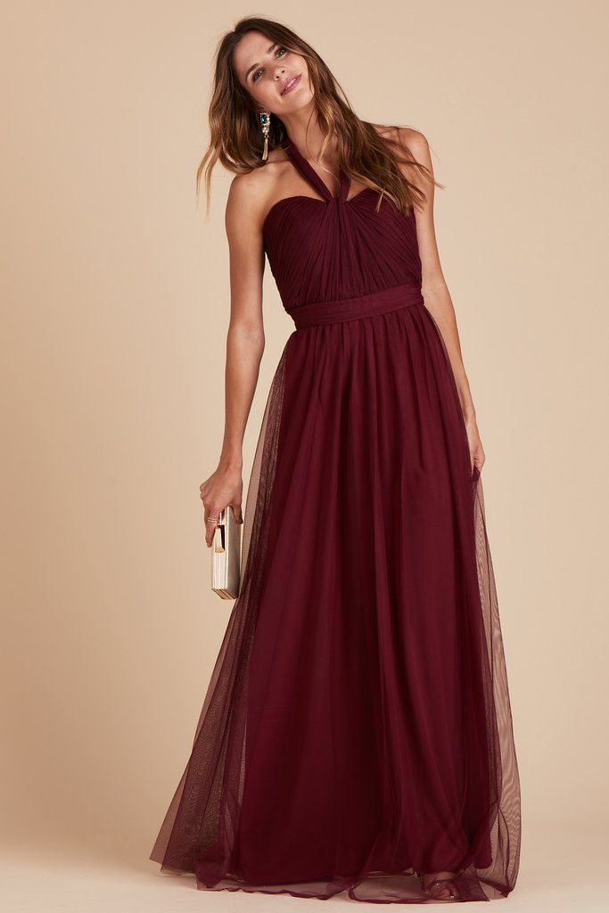 Christina Convertible Dress - Cabernet | Wine bridesmaid dresses, Versatile  bridesmaid dress, Bridesmaid dresses