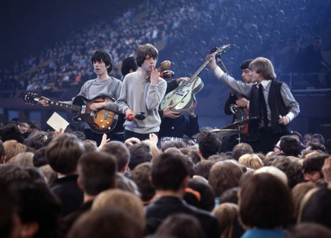 Fifty years ago today, the Rolling Stones played their first concert, at the Marquee Club in London. In commemoration, click-through for a selection of photos from the band's early years: http://nyr.kr/NOK8bU