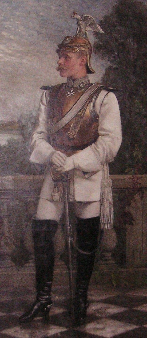 ferdinand rogalla von bieberstein in the uniform of the prussian garde du corps portraits. Black Bedroom Furniture Sets. Home Design Ideas