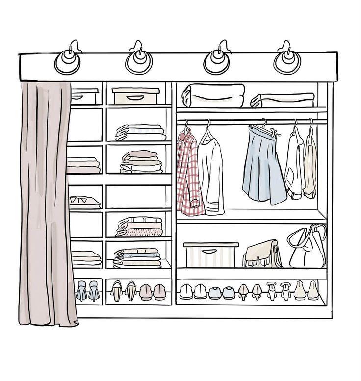Trend Consigue un vestidor en poco espacio