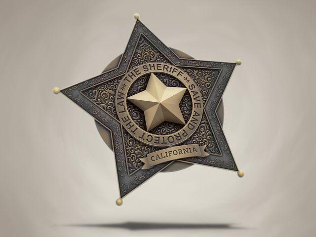 Sheriff badge by samuraydesign.deviantart.com on @DeviantArt