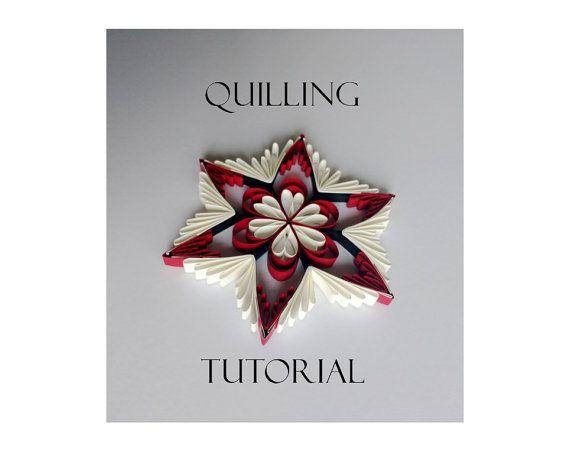 Quilling pattern / tutorial / how to QD8 PDF von Quillings4U