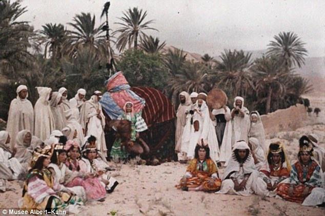 Argelia - Norte da Africa - 1909-11: Kahn S Archive, Photos, Early 20Th, Albert Kahn S, Color, 20Th Century